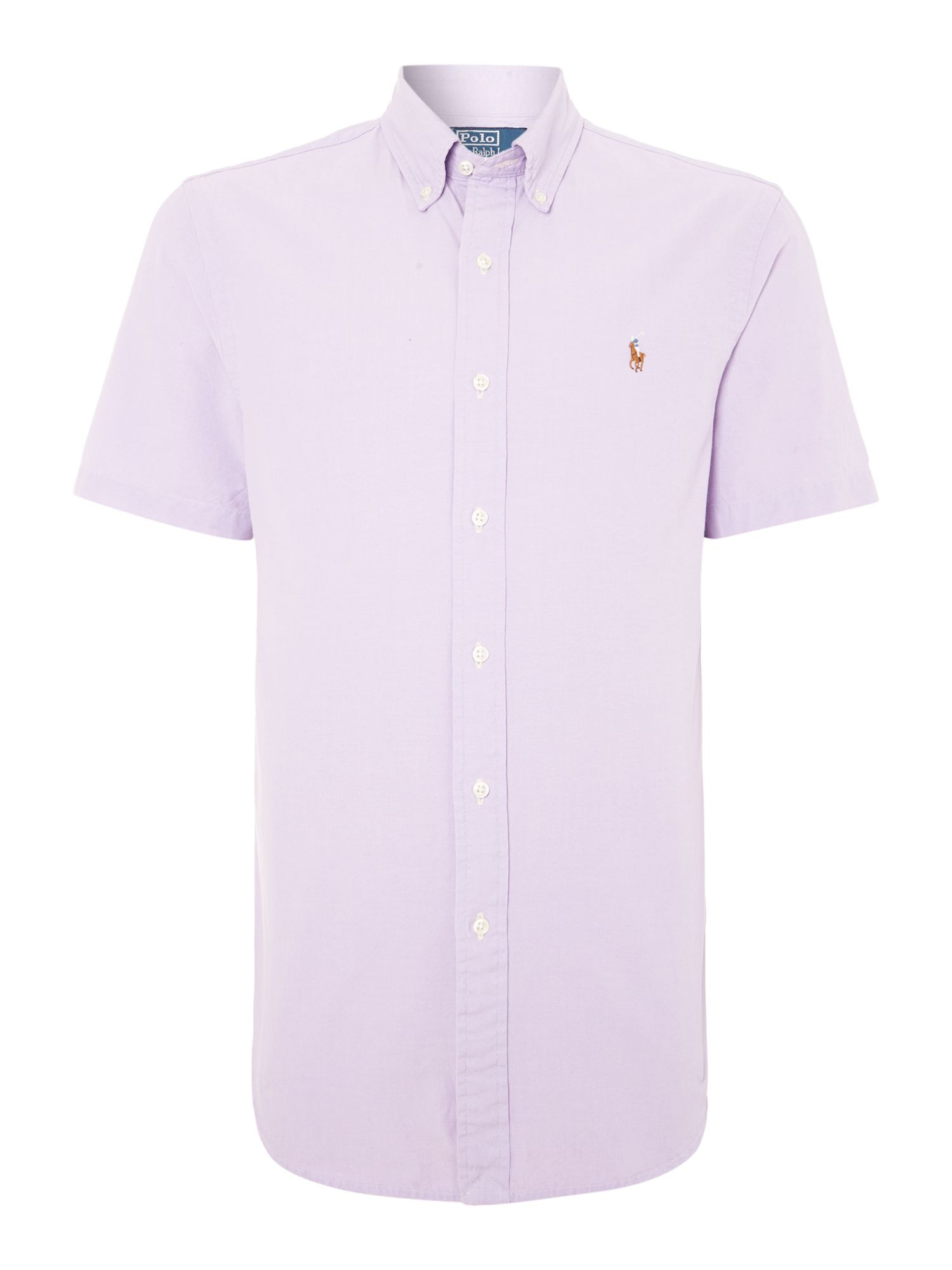 Polo Ralph Lauren Classic Short Sleeve Slim Fit Shirt In