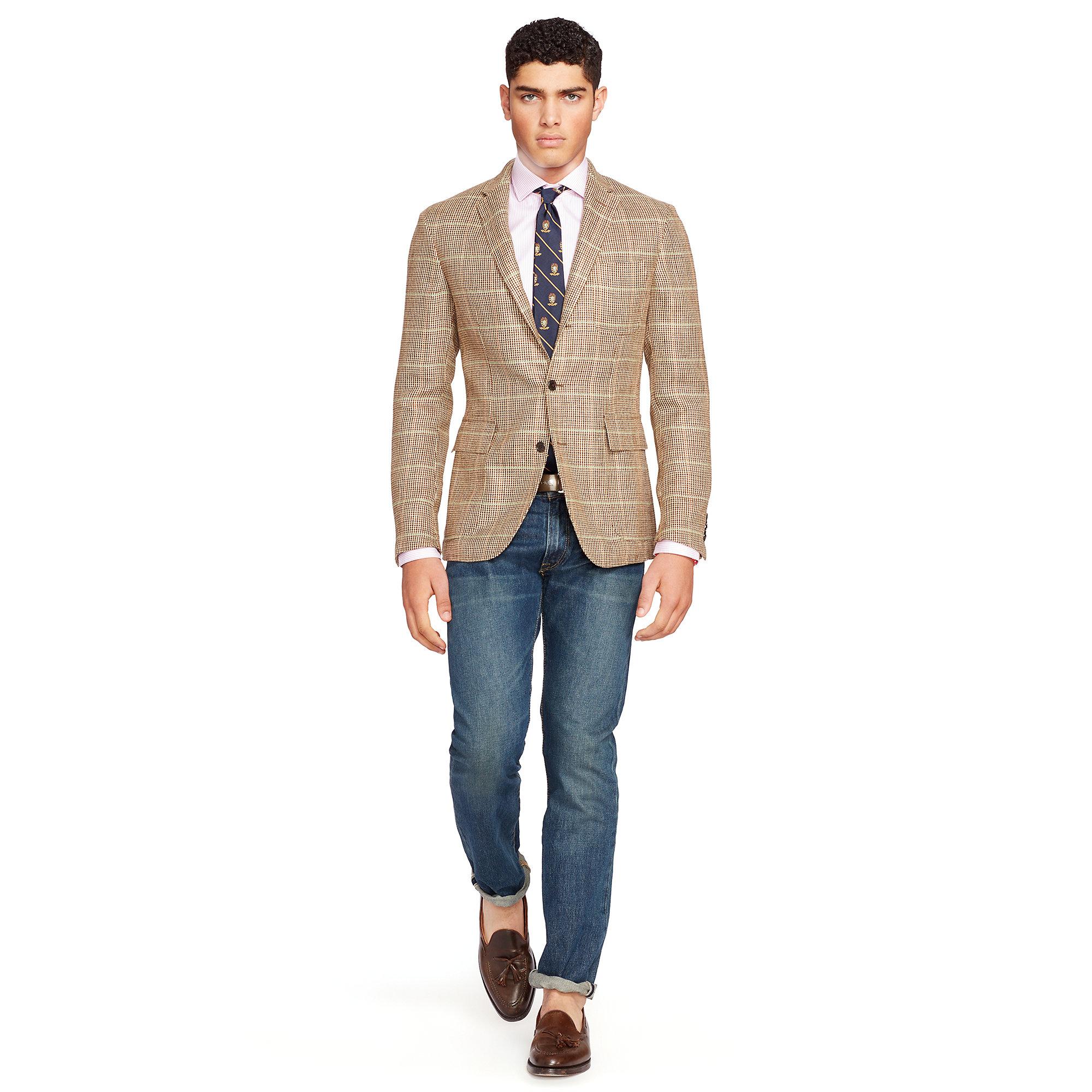 6e67217ec7 Polo Ralph Lauren Natural Morgan Tick-weave Sport Coat for men