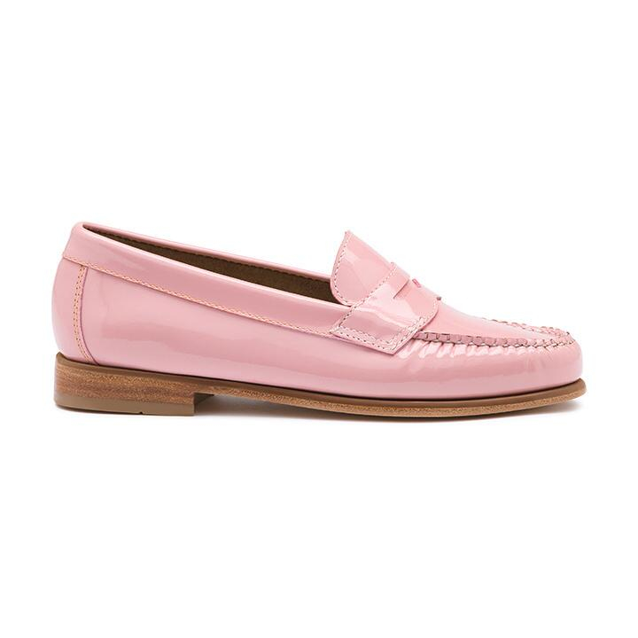 G.h. bass & co. Brice Patent Penny Loafer in Pink | Lyst