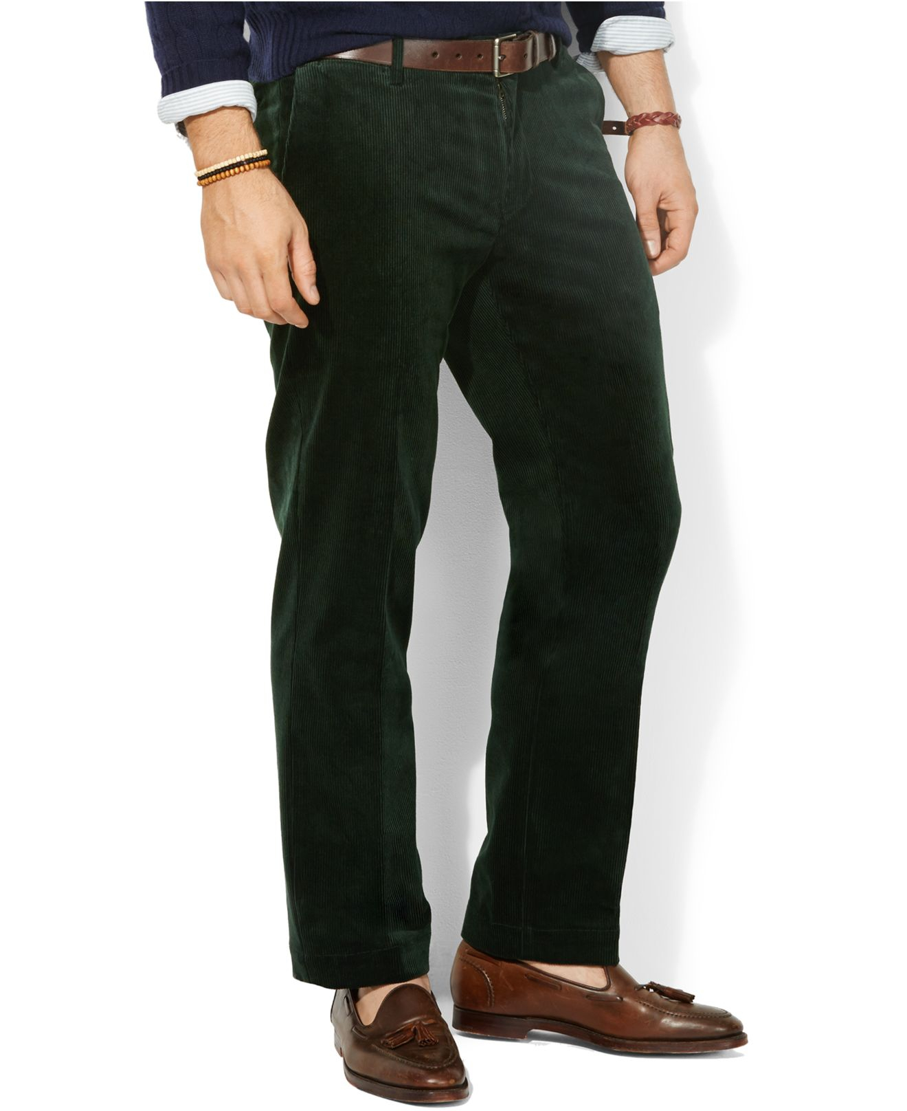 Polo ralph lauren Big And Tall Ten Wale Thick Corduroy Pants in ...