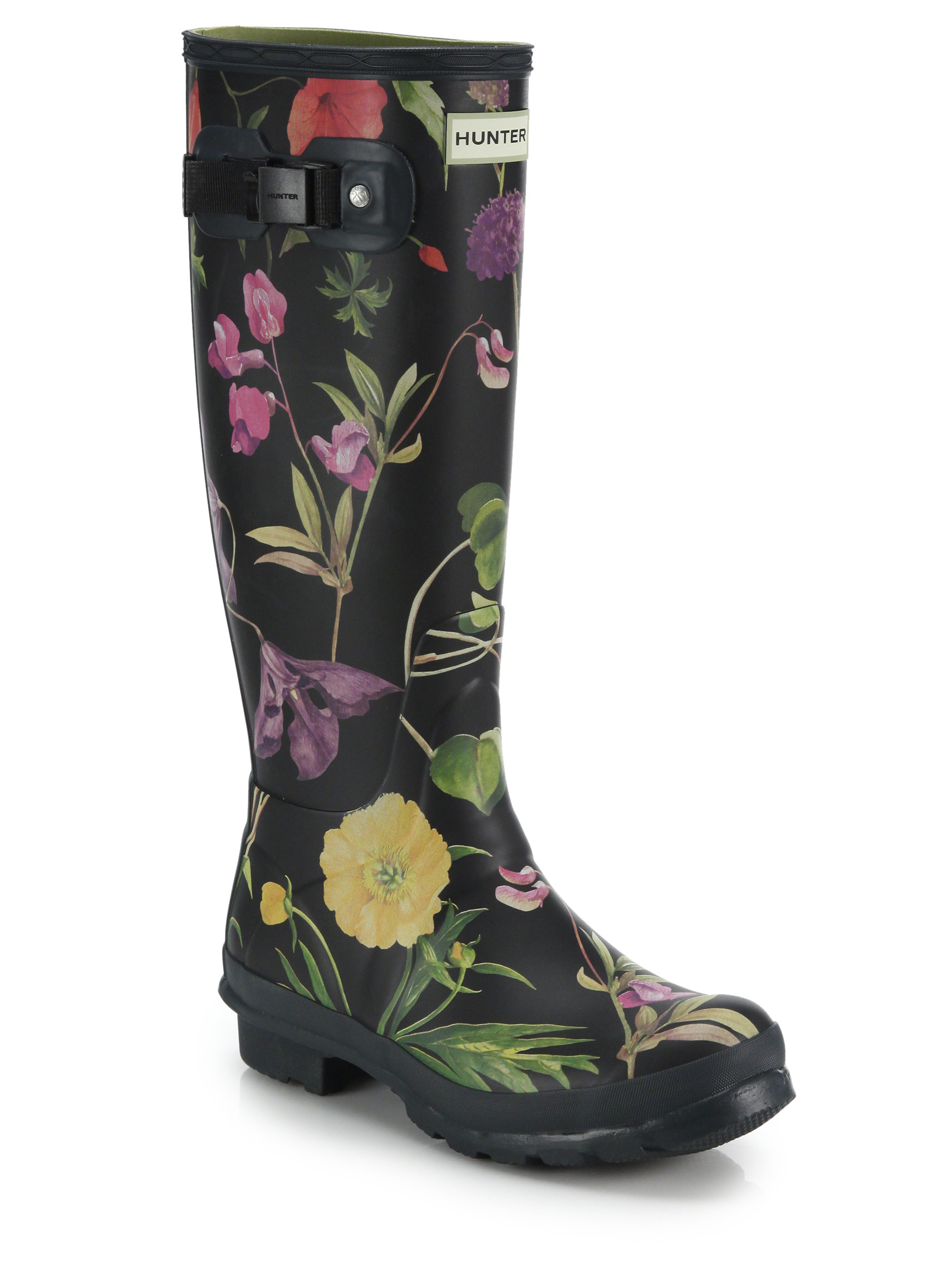 Womens Floral Rain Boots Coltford Boots