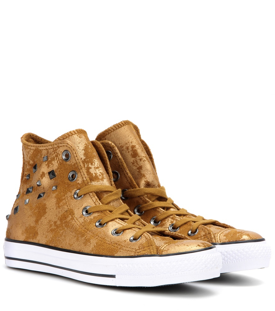 Converse Chuck Taylor All Star Metallic Suede High-top Sneakers in . 91d52bbd0