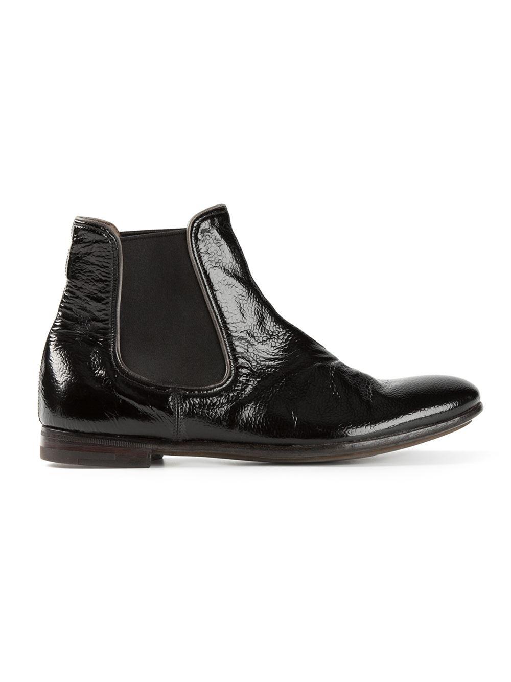 Premiata Chelsea Boots in Black
