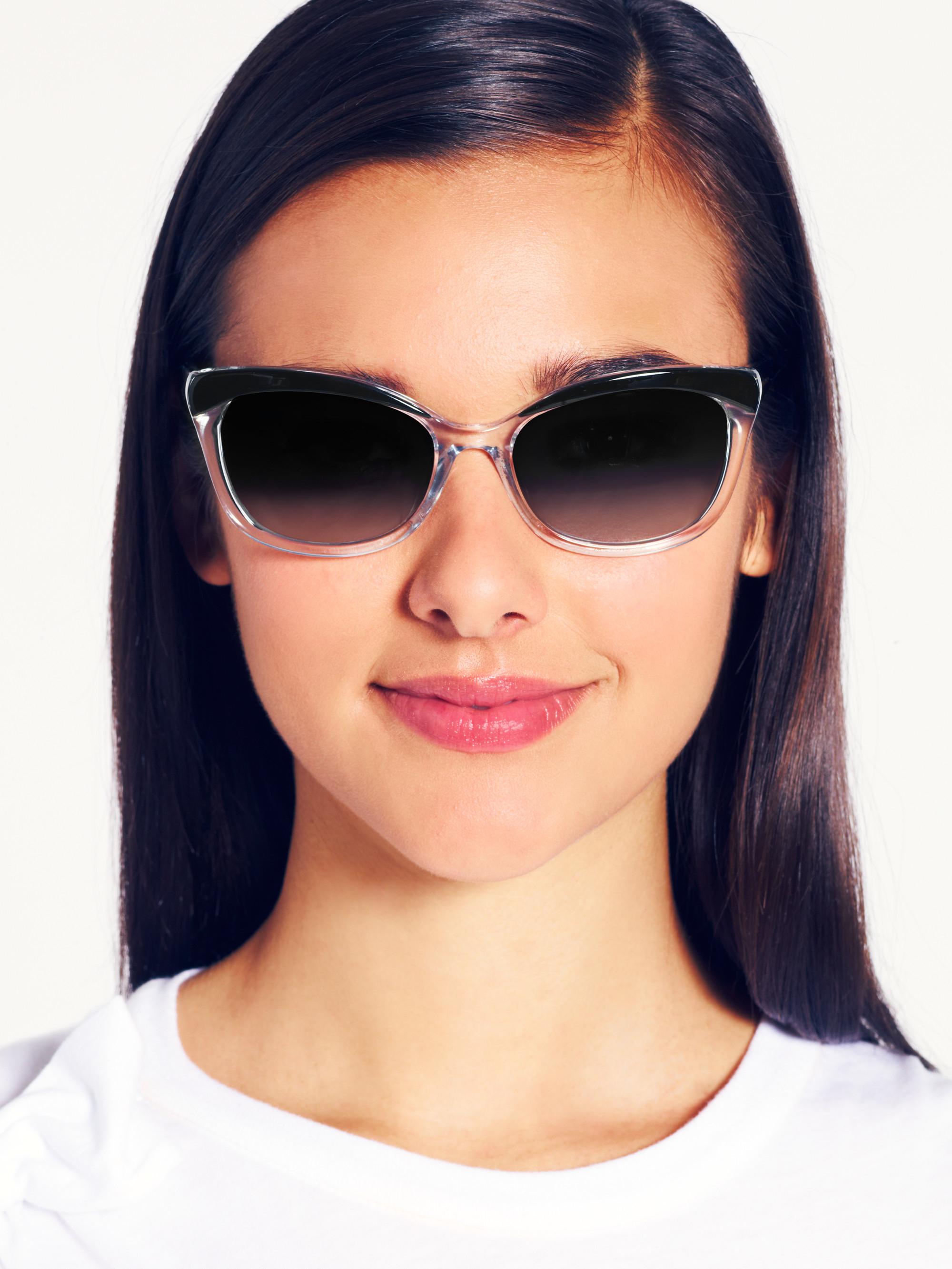 05bfdc768d43 Kate Spade Amara Sunglasses in Black - Lyst