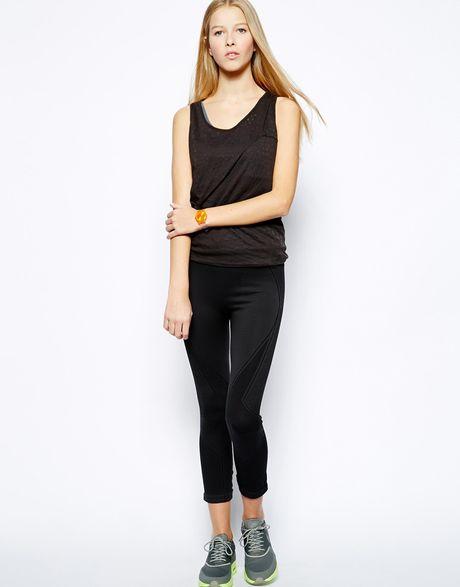 Puma Lux Seamless Leggings in Black