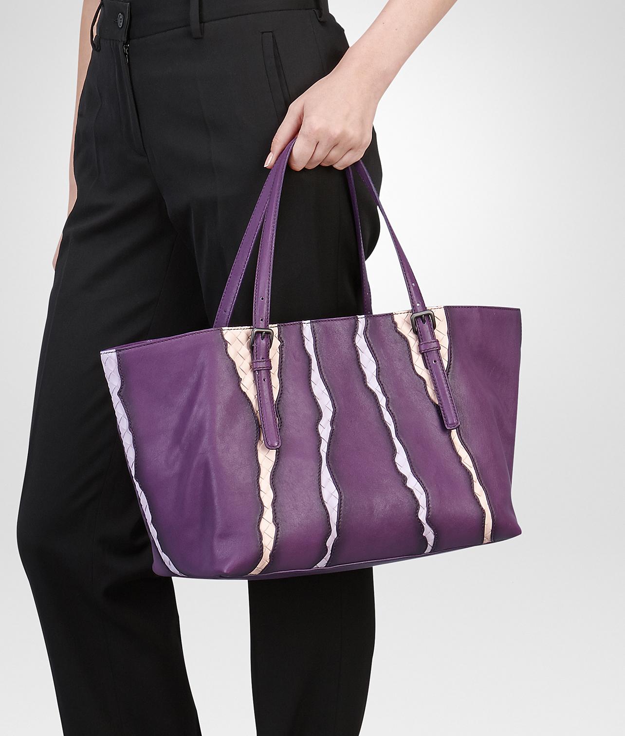 fd9977c90 Bottega Veneta Monalisa Washed Nappa Intrecciato Glimmer Tote Bag in ...