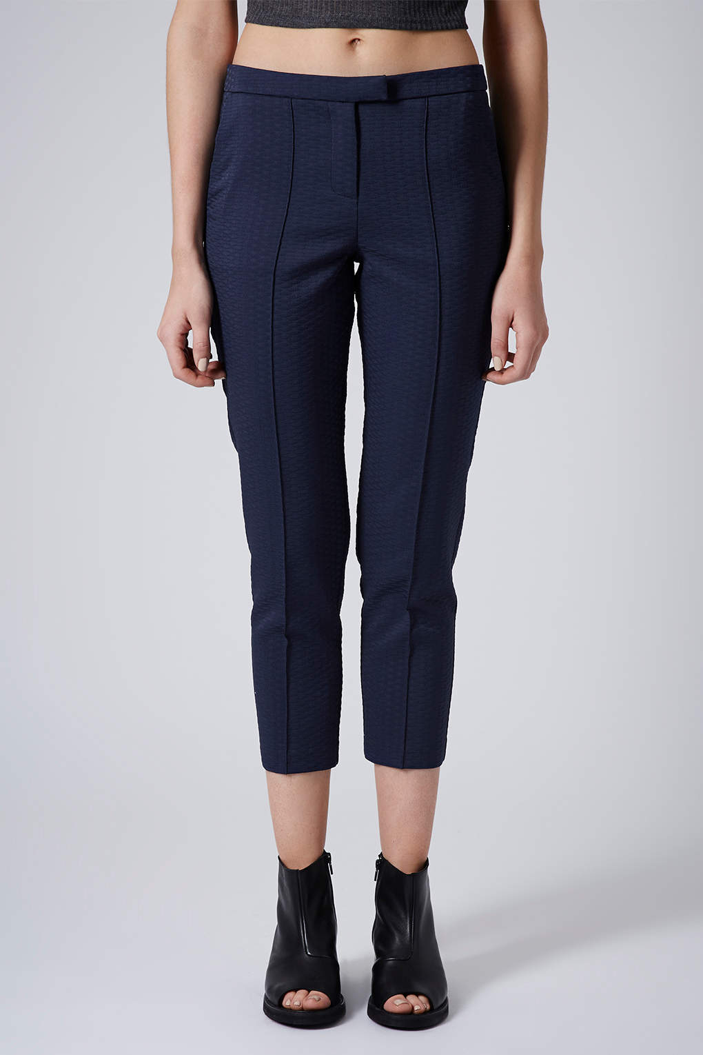lowest discount best cheap preview of Petite Textured Cigarette Trousers