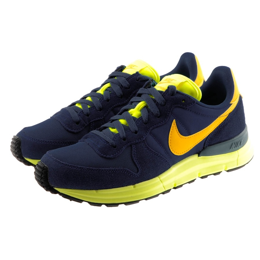 wholesale dealer 72b5b fbc74 Nike Lunar Internationalist Trainers Court in Blue for Men - Lyst