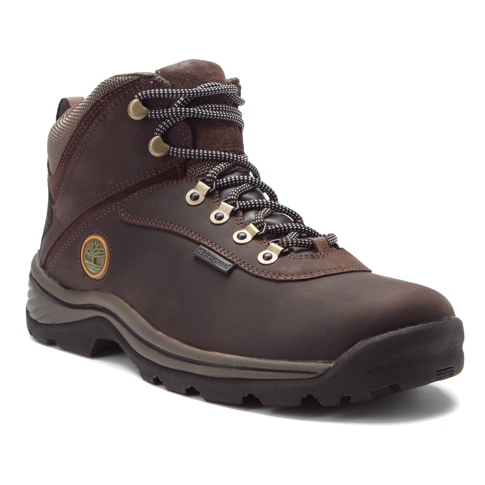 timberland white ledge waterproof mid in brown for lyst