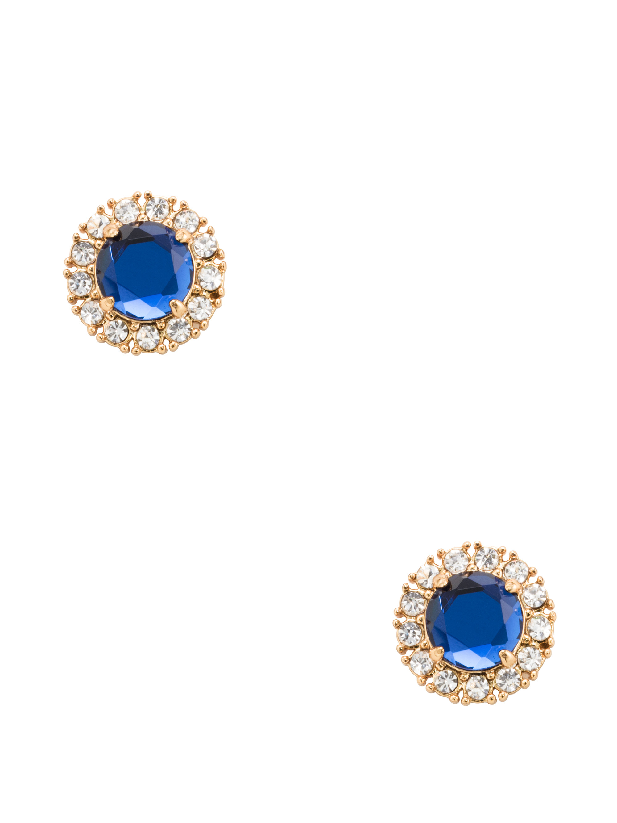 Kate Spade Secret Garden Studs In Blue Lyst