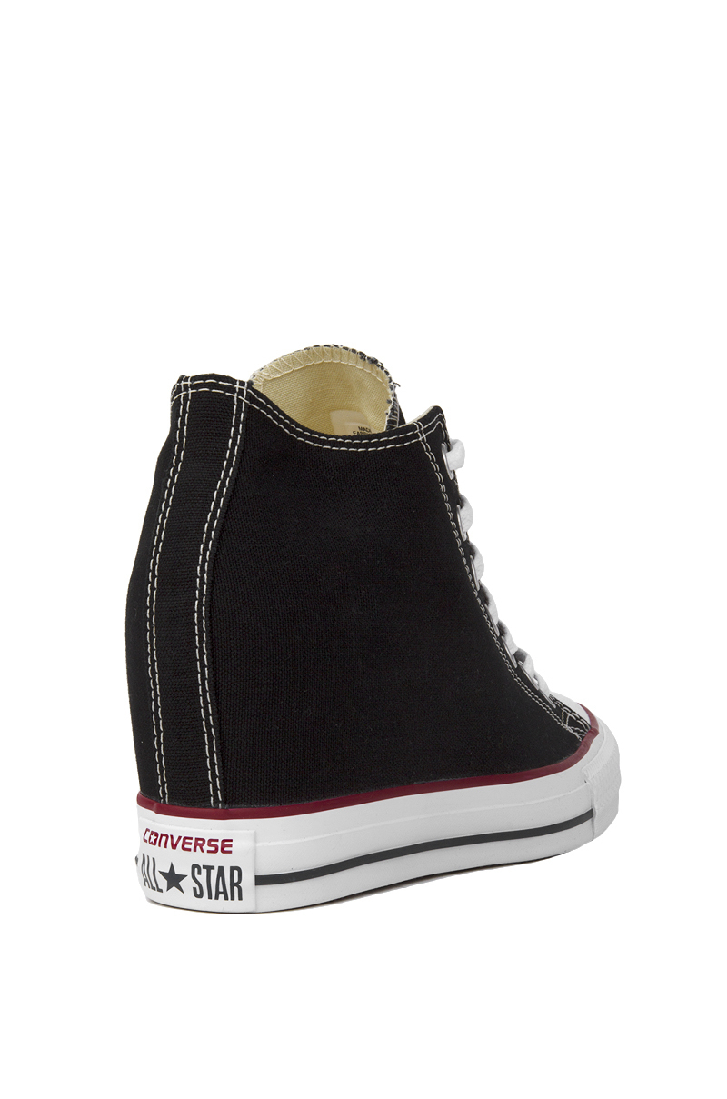 Converse Denim Women's Chuck Taylor All Star Lux Mid Top Sneaker ...