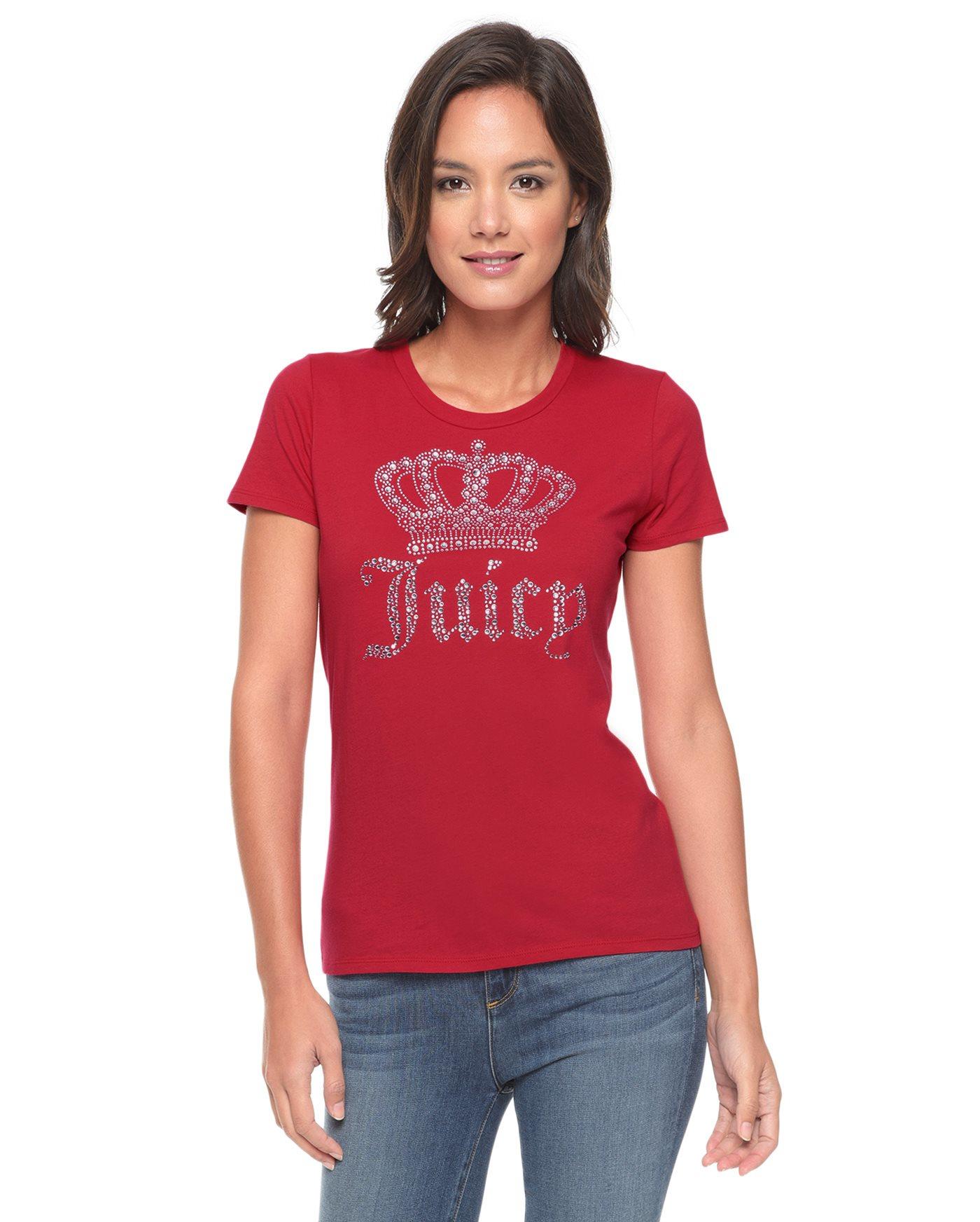 Juicy couture Logo Juicy Crown Short Sleeve Tee in Red ...Juicy Couture Crown Tattoo