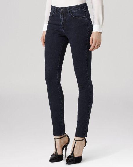 Elegant Rta Denim Jagger Ziptrim Skinny Jeans In White  Lyst