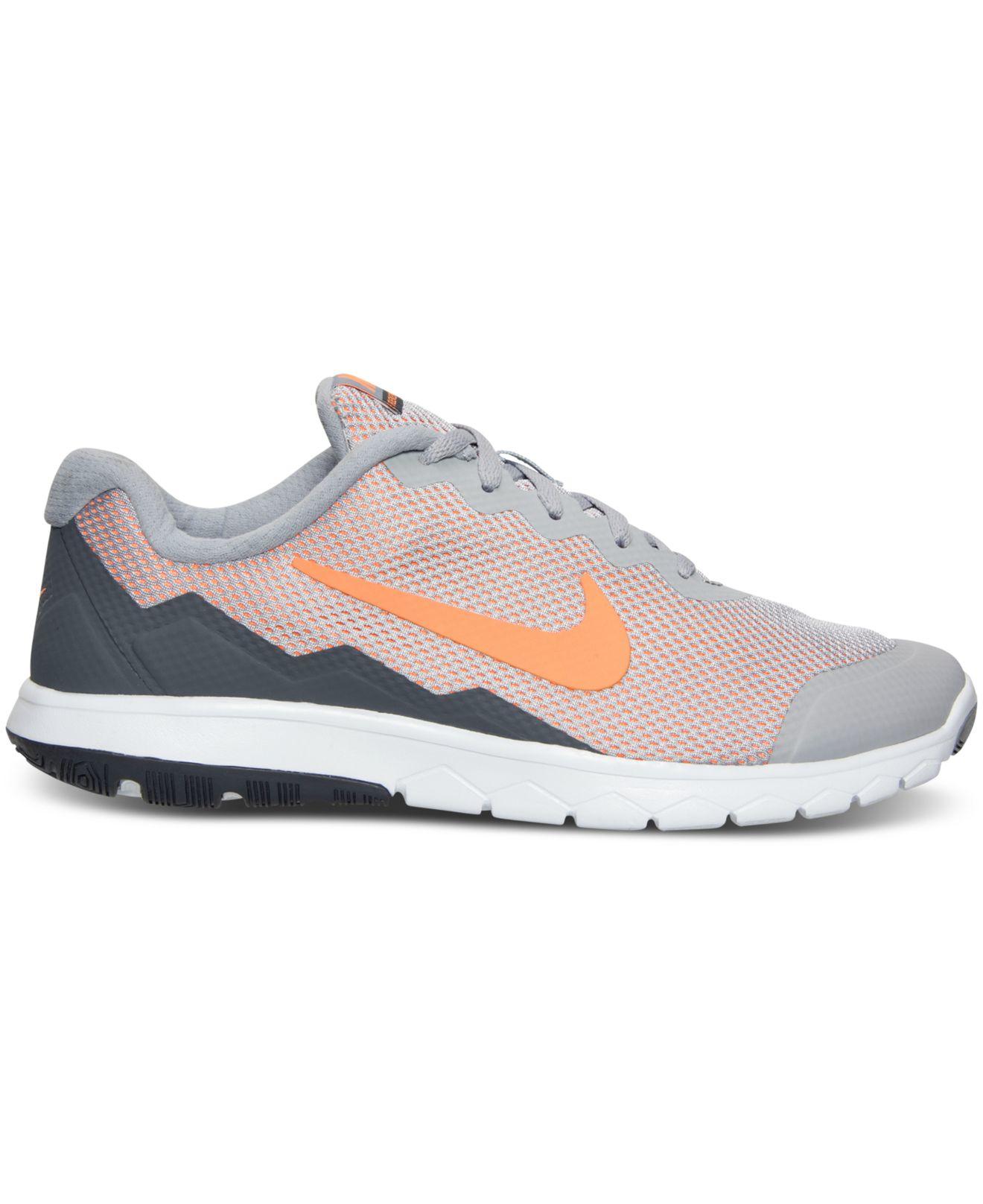 046888ce0a67 Lyst - Nike Men s Flex Experience Run 4 Wide Width Running Sneakers ...