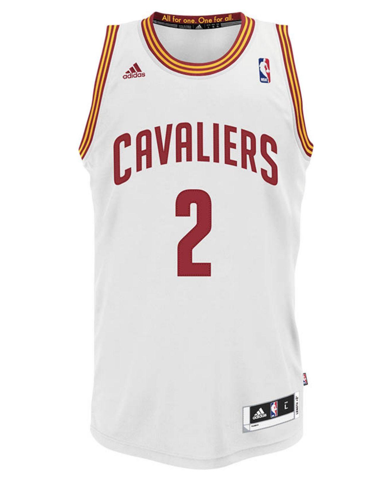 6ea159da0654f2 ... usa lyst adidas mens kyrie irving cleveland cavaliers swingman jersey  d7dd5 18c22