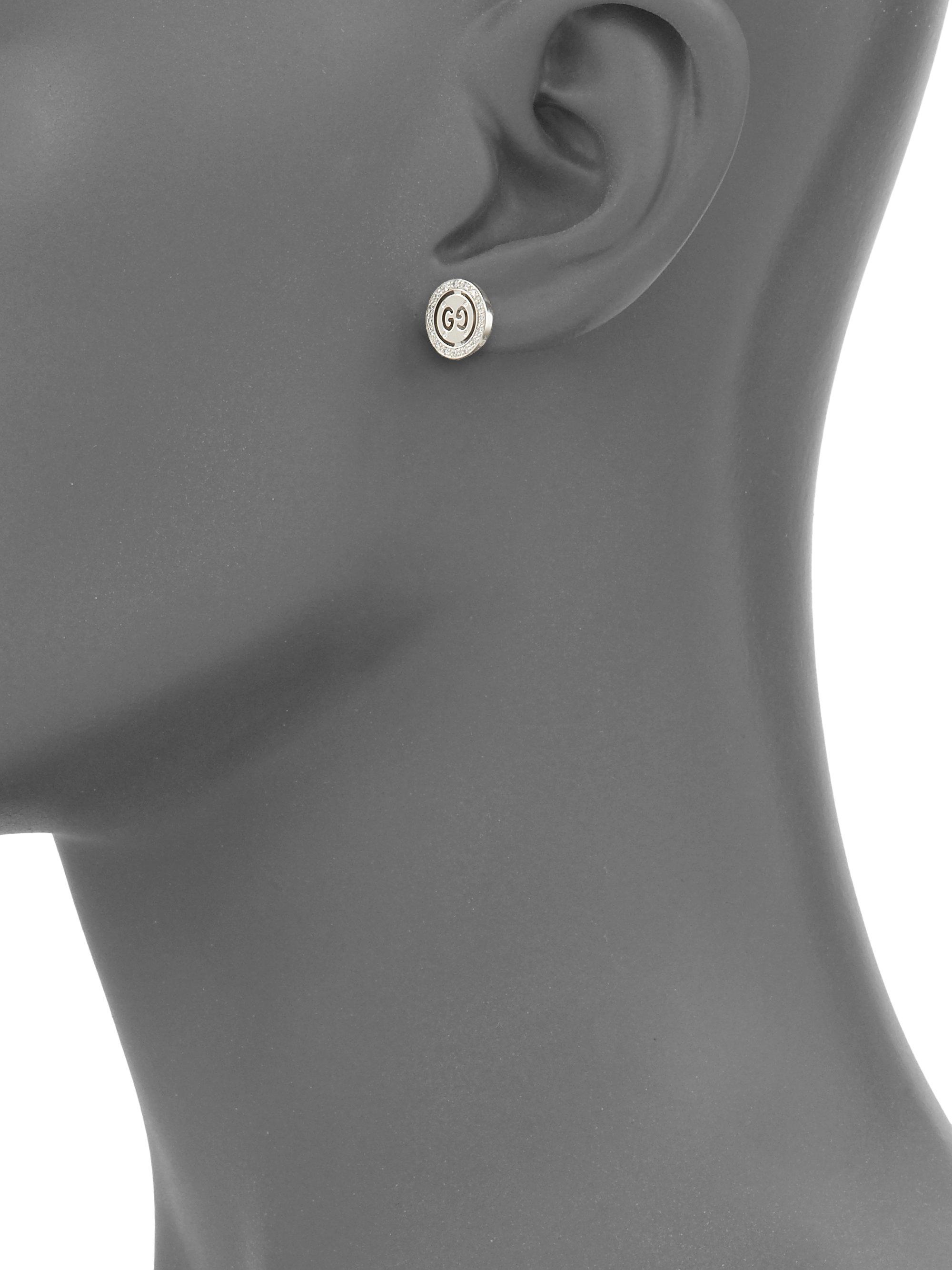 40013bc77ec Gucci Stud Earrings Gold - Best All Earring Photos Kamilmaciol.Com