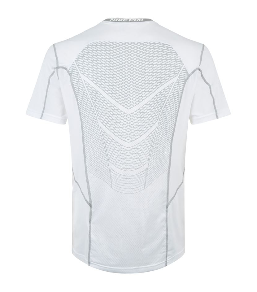 19a94c01 Nike Pro Hypercool Fitted T-shirt in White for Men - Lyst