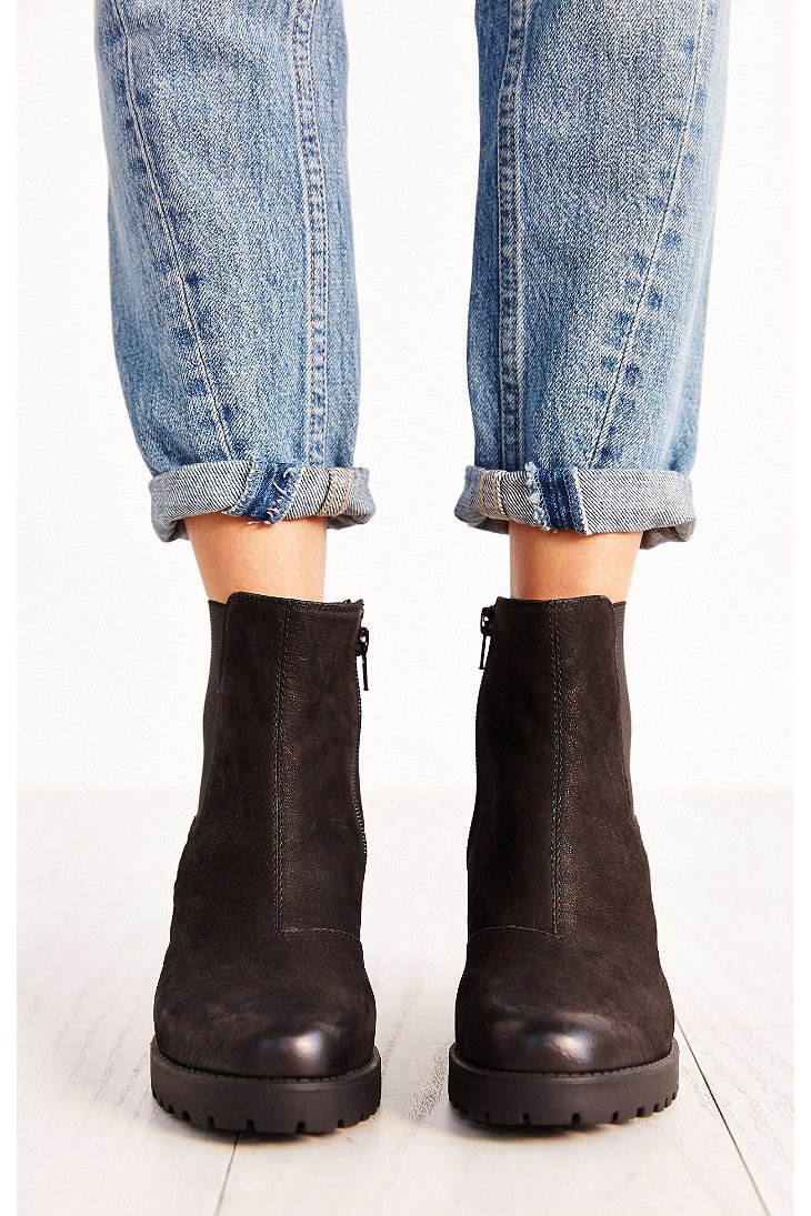 vagabond grace platform ankle boot in black lyst. Black Bedroom Furniture Sets. Home Design Ideas