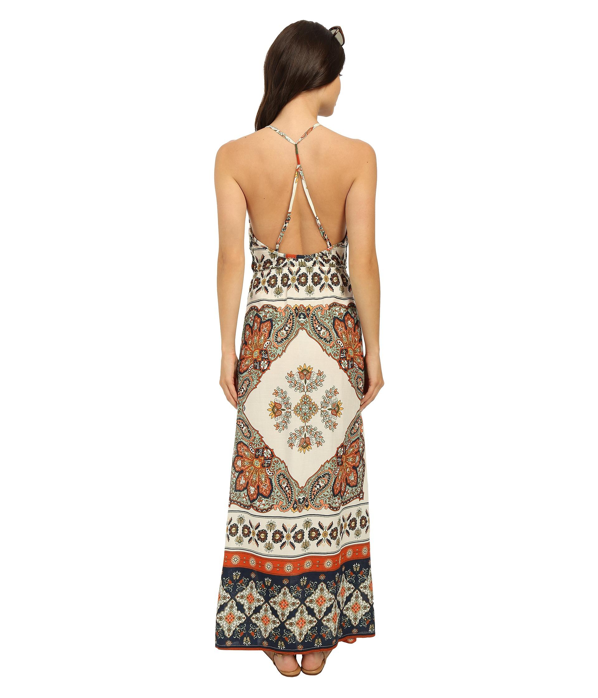 fd9a5d063e7d Lyst - Roxy Summer Fleet Dress in Natural
