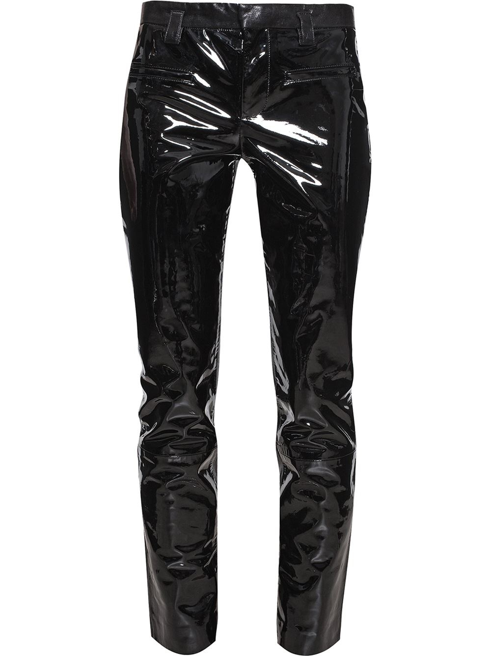 Lyst Haider Ackermann Patent Leather Trousers In Black