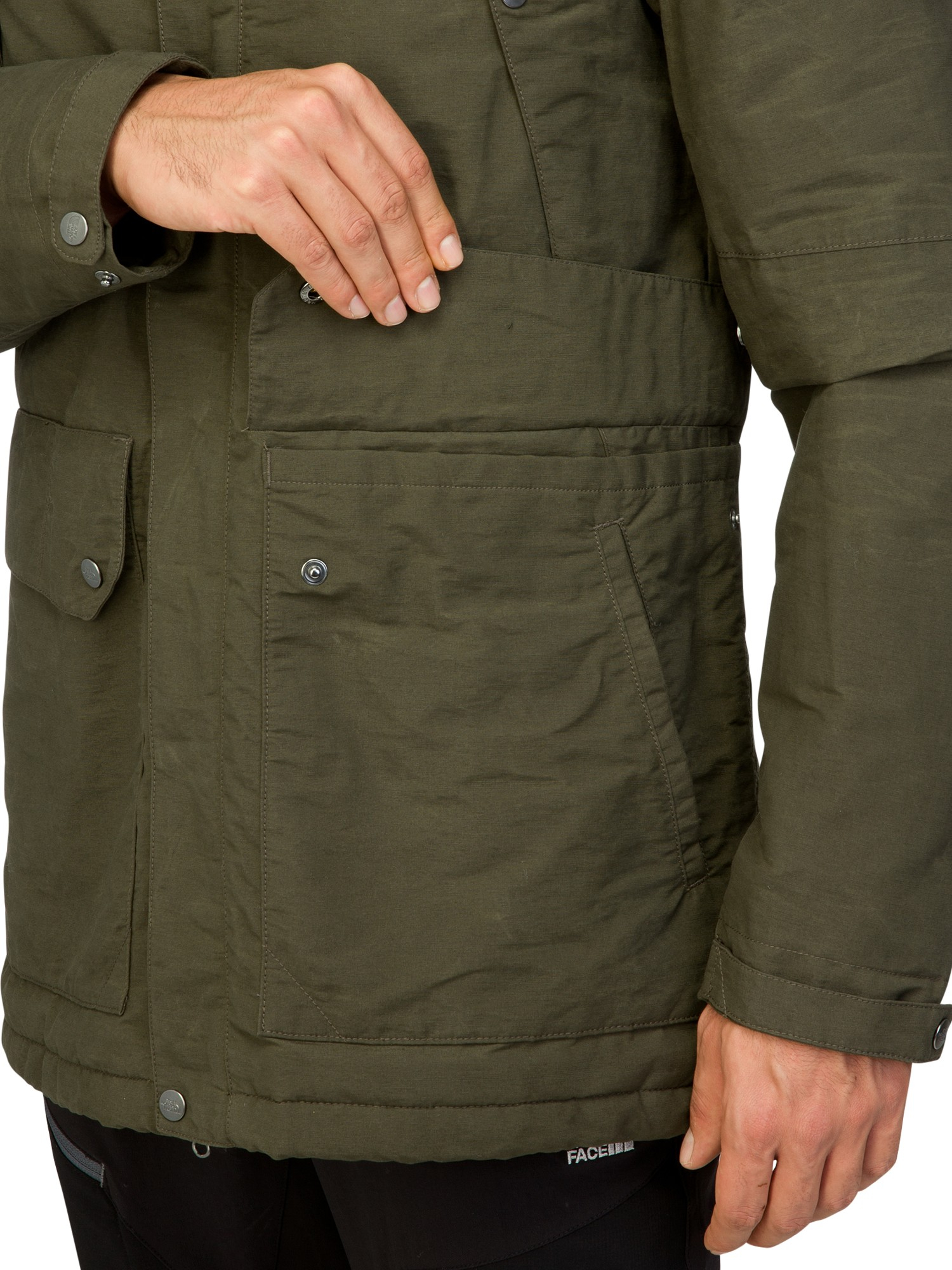 3e7d5312a The North Face Katavi Trench Coat in Natural for Men - Lyst