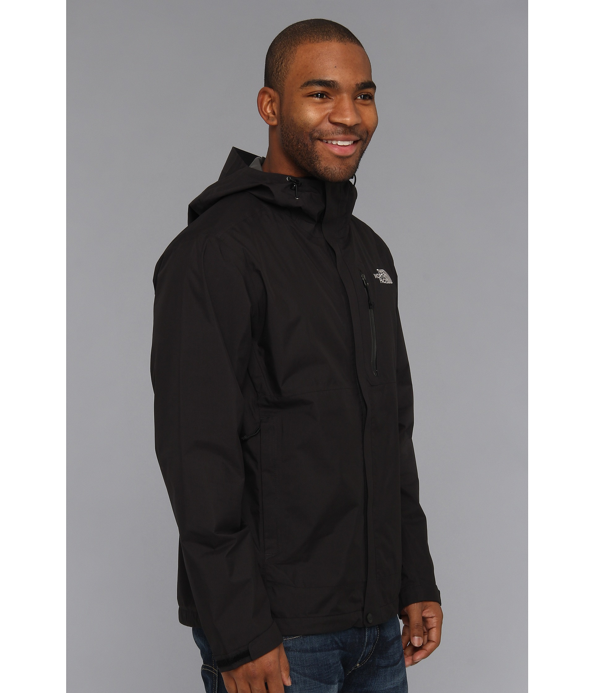 Schoudertas The North Face : The north face dryzzle jacket in black for men lyst