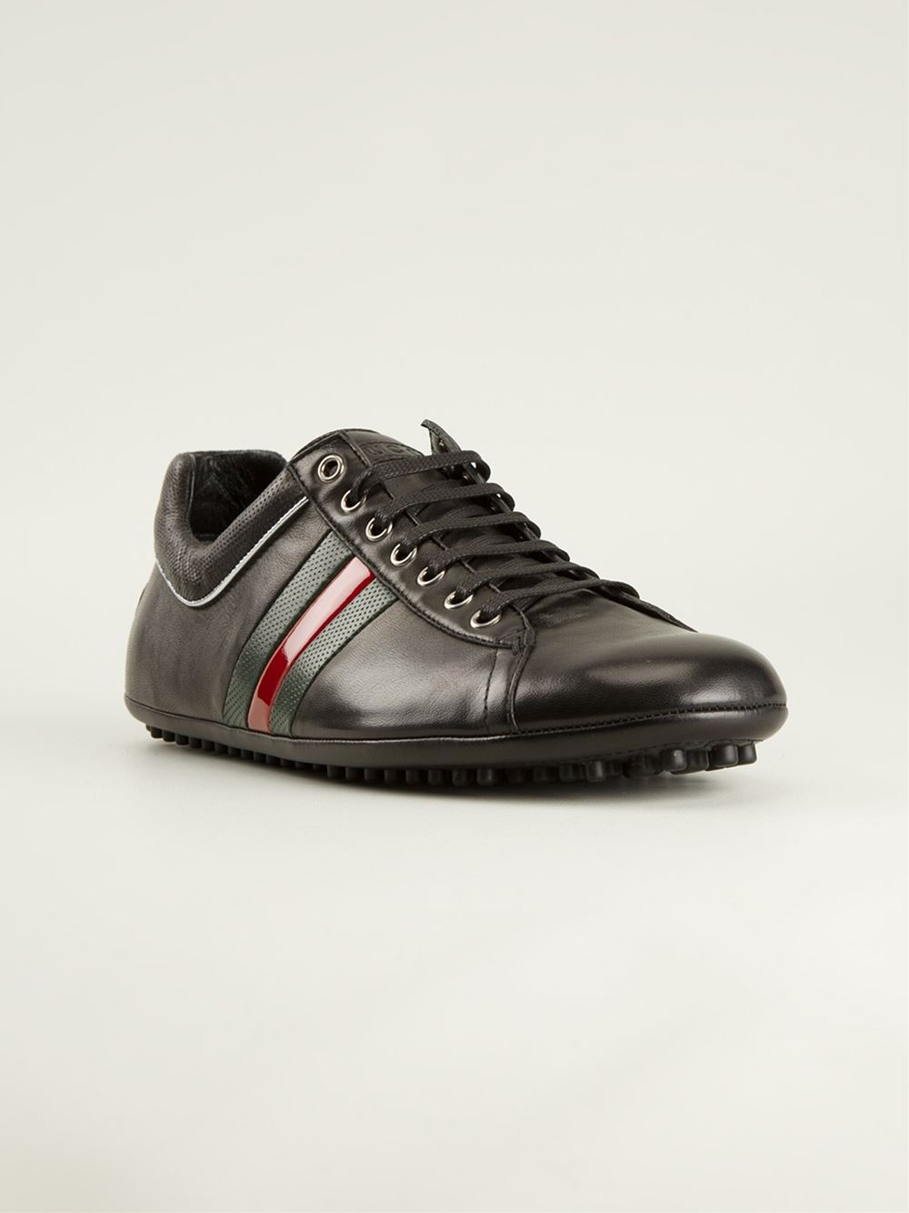 Gucci Classic Lo-top Sneakers in Black for Men