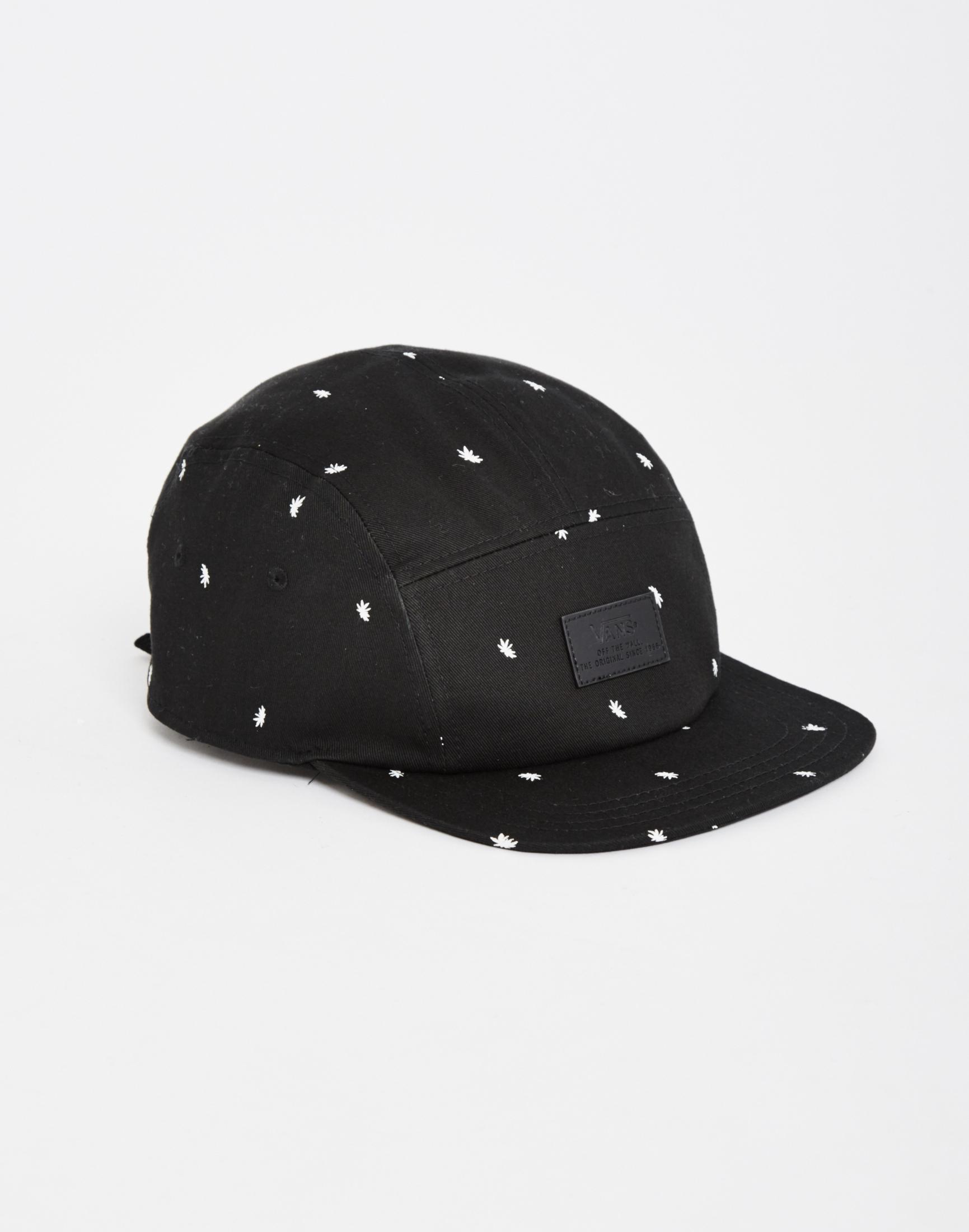 6e111408b5 Lyst - Vans Davis 5-panel Camper Hat in Black for Men