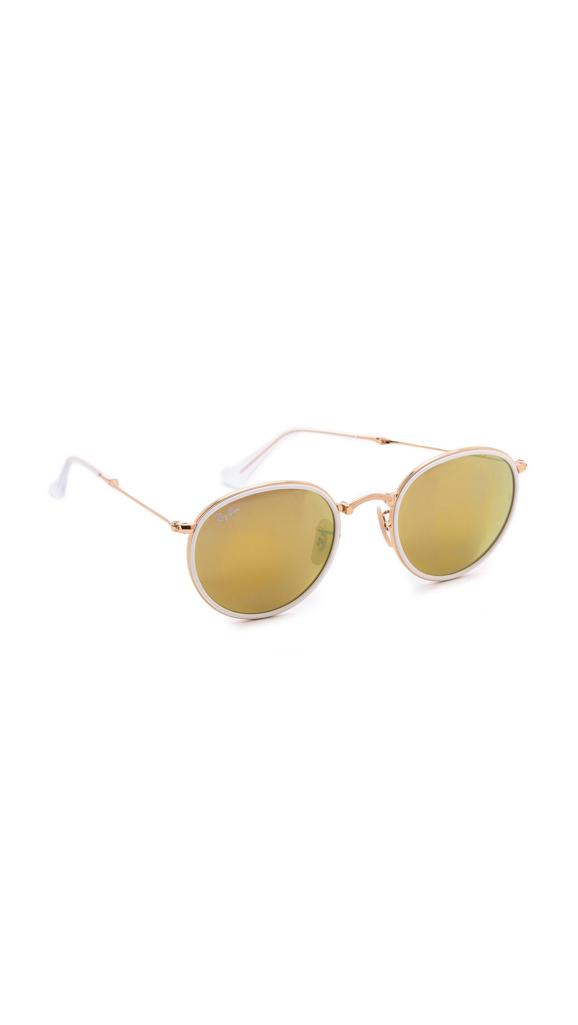 ray ban icon round wire sunglasses