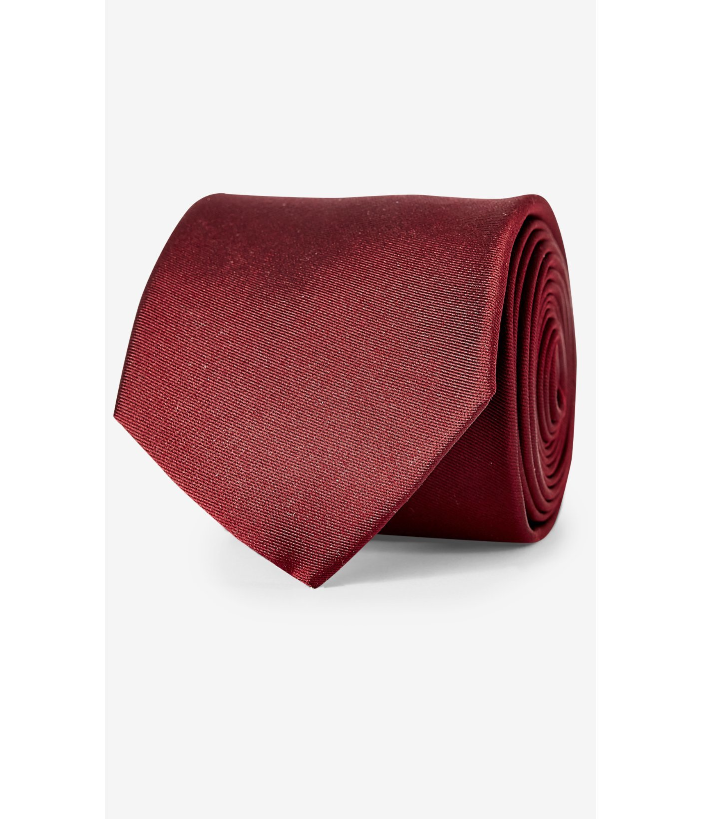 express mint narrow solid color silk tie in for lyst