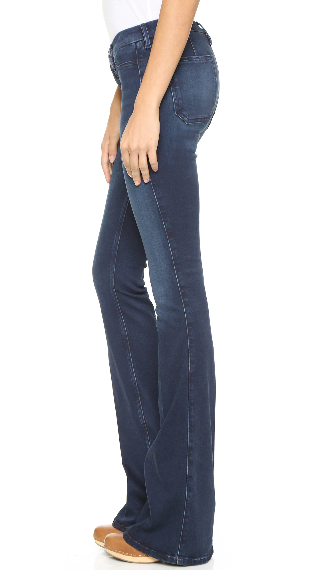 M.i.h Jeans The Skinny Marrakesh Jeans - Garde Wash in Blue