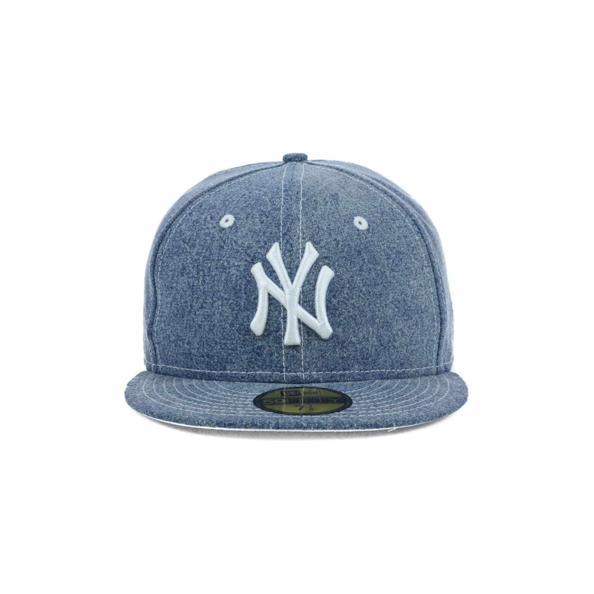caaa1170f15 coupon code for lyst ktz new york yankees mlb classic denim 59fifty cap in  blue 5afc8
