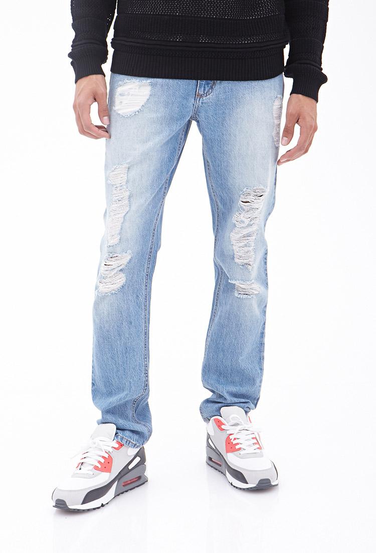 Lightweight Denim Jeans For Men