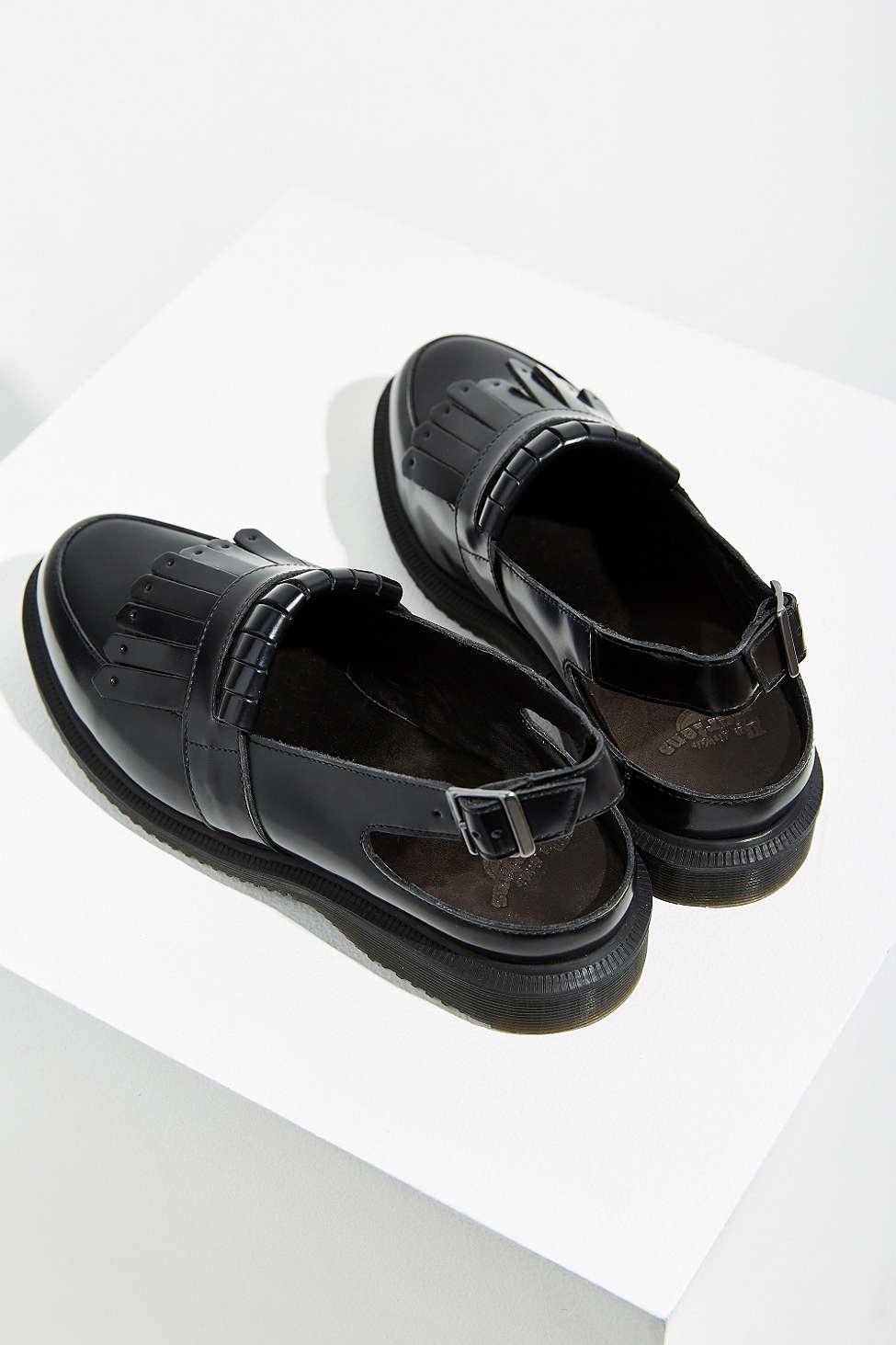 0b23c499be5 Lyst - Dr. Martens Valentine Slingback Loafer in Black