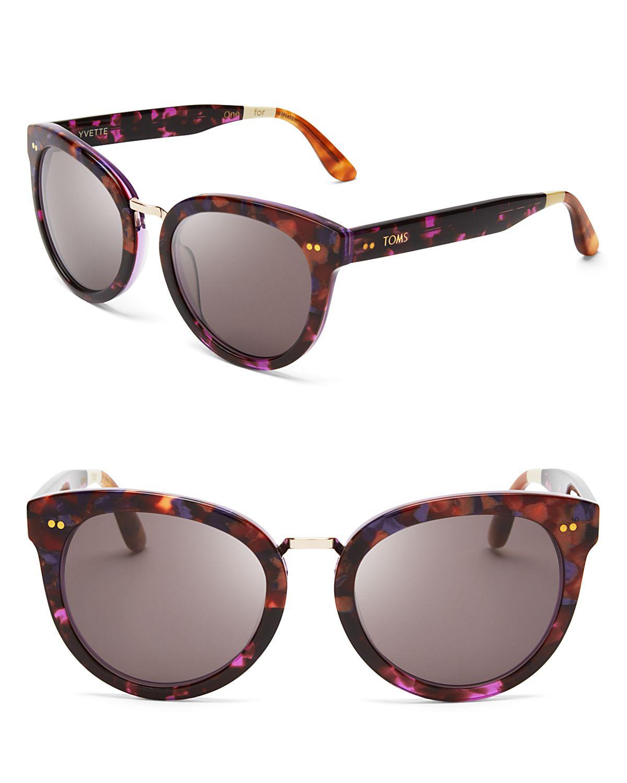 Lyst - Toms Yvette Sunglasses in Metallic