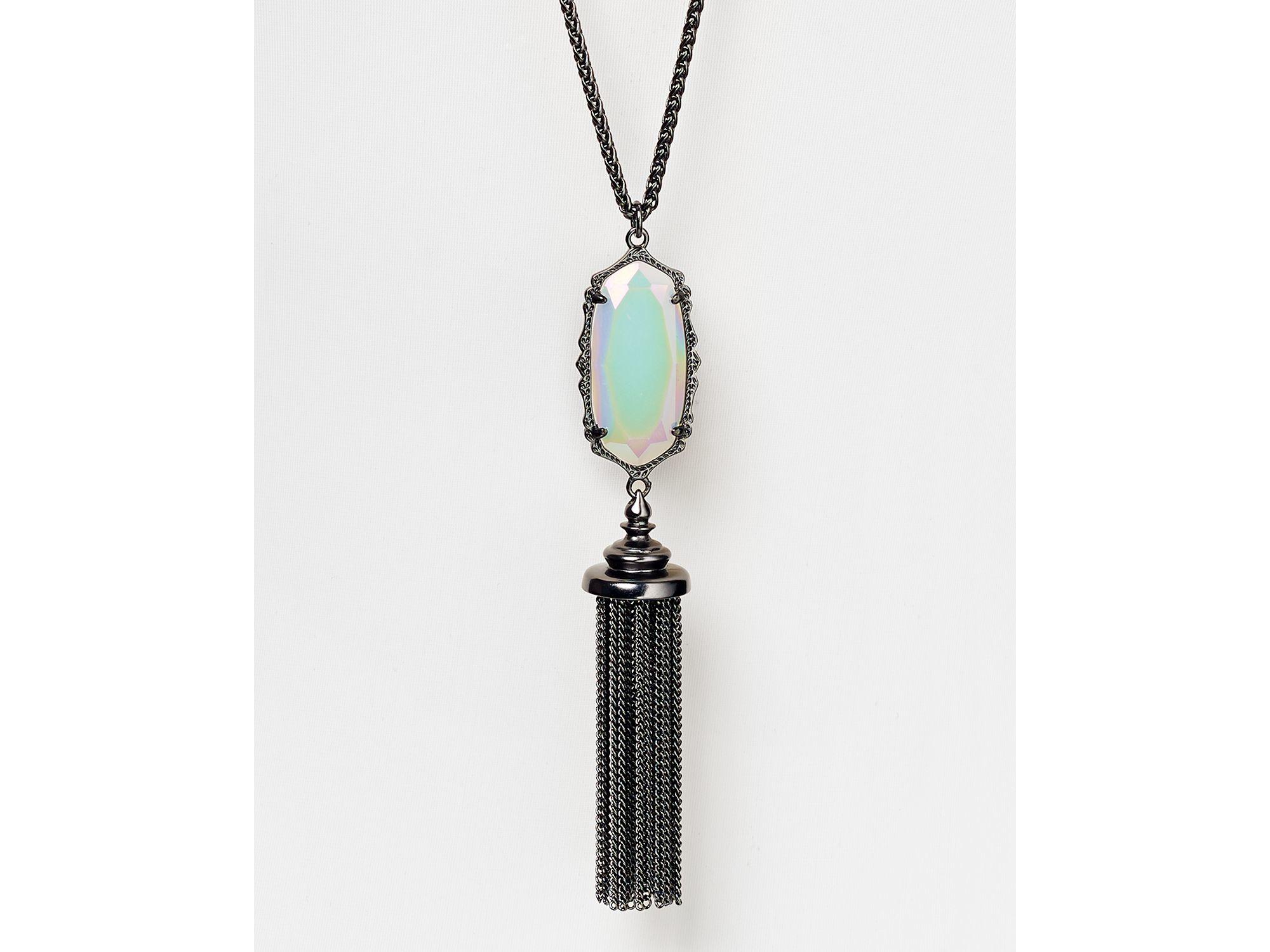 Kendra Scott Everly Pendant Necklace 32 Quot In Metallic Lyst