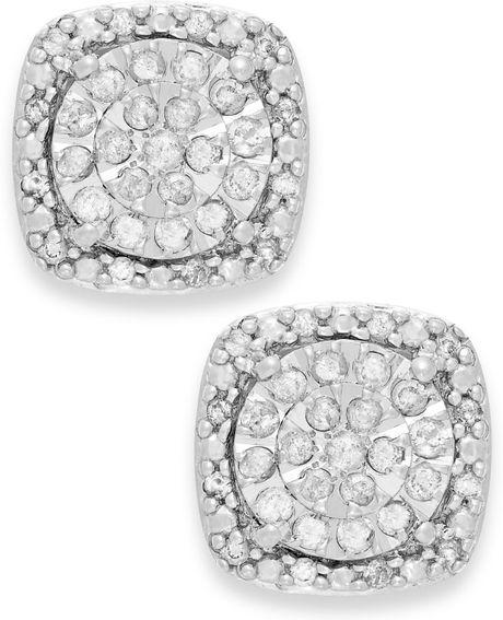 Macy S 1 Ct Diamond Earrings