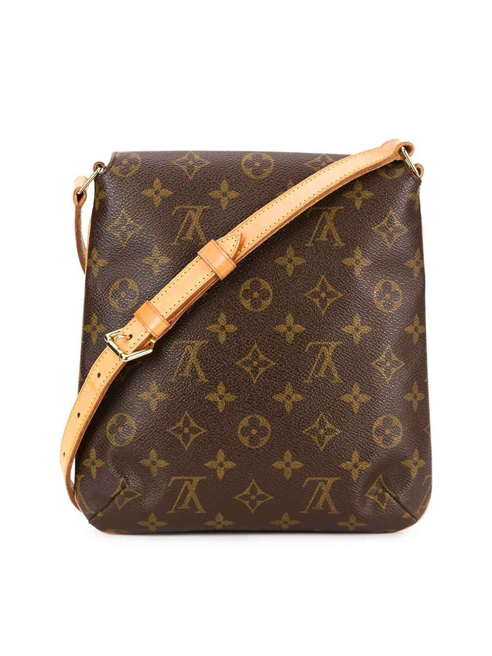 louis vuitton 39 musette salsa 39 shoulder bag in multicolor brown lyst. Black Bedroom Furniture Sets. Home Design Ideas