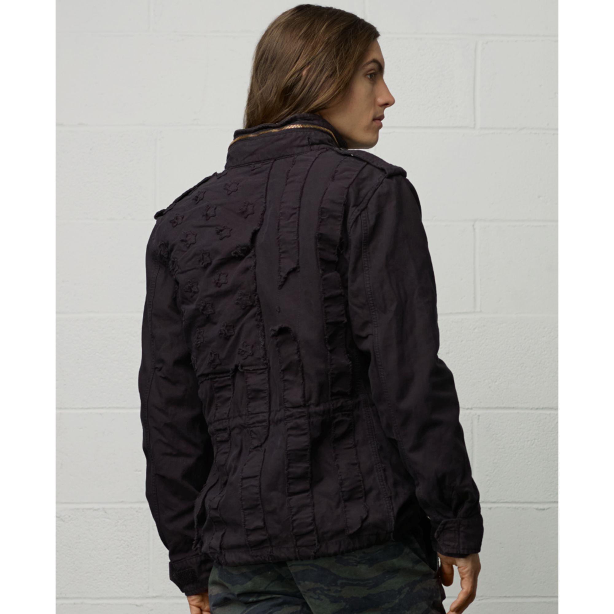 Lyst Denim Amp Supply Ralph Lauren Field Jacket In Black