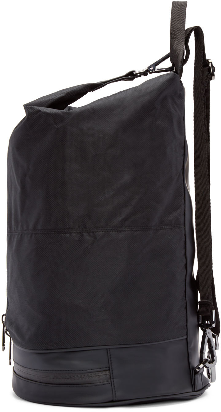 db299f54cea7 ... Adidas By Stella Mccartney Black Nylon Gymbag 5 Backpack in the best  attitude 5a582 121a8 ...