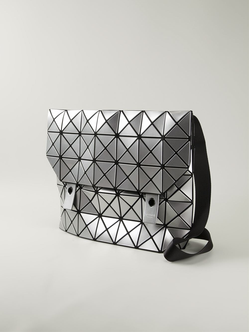 8a555760b0c Bao Bao Issey Miyake Rock Basic Shoulder Bag in Gray - Lyst
