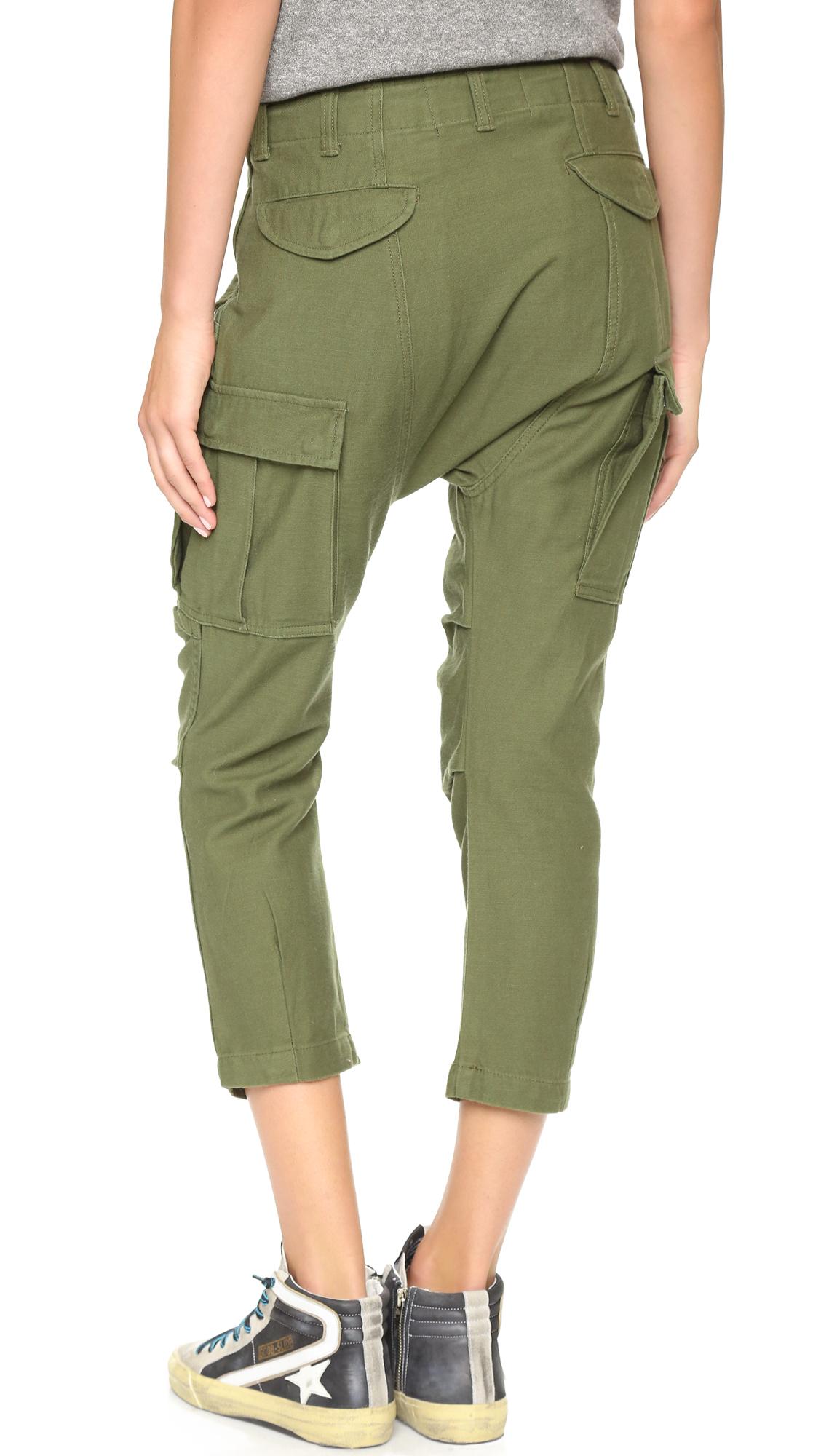 Wonderful Dickies Olive Green Loose Fit Cargo Pant  Uncle Sams Army Navy