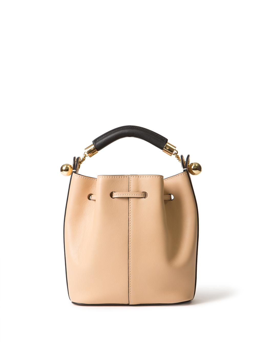 replica chloe marcie - Chlo�� Small Gala Bucket Bag in Beige | Lyst
