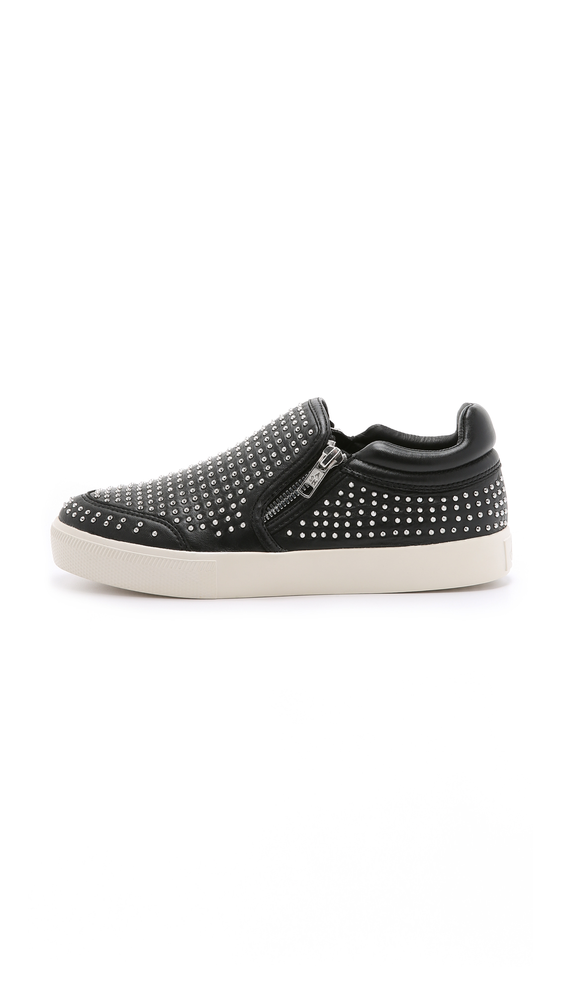 ash iman slip on sneakers black in black lyst