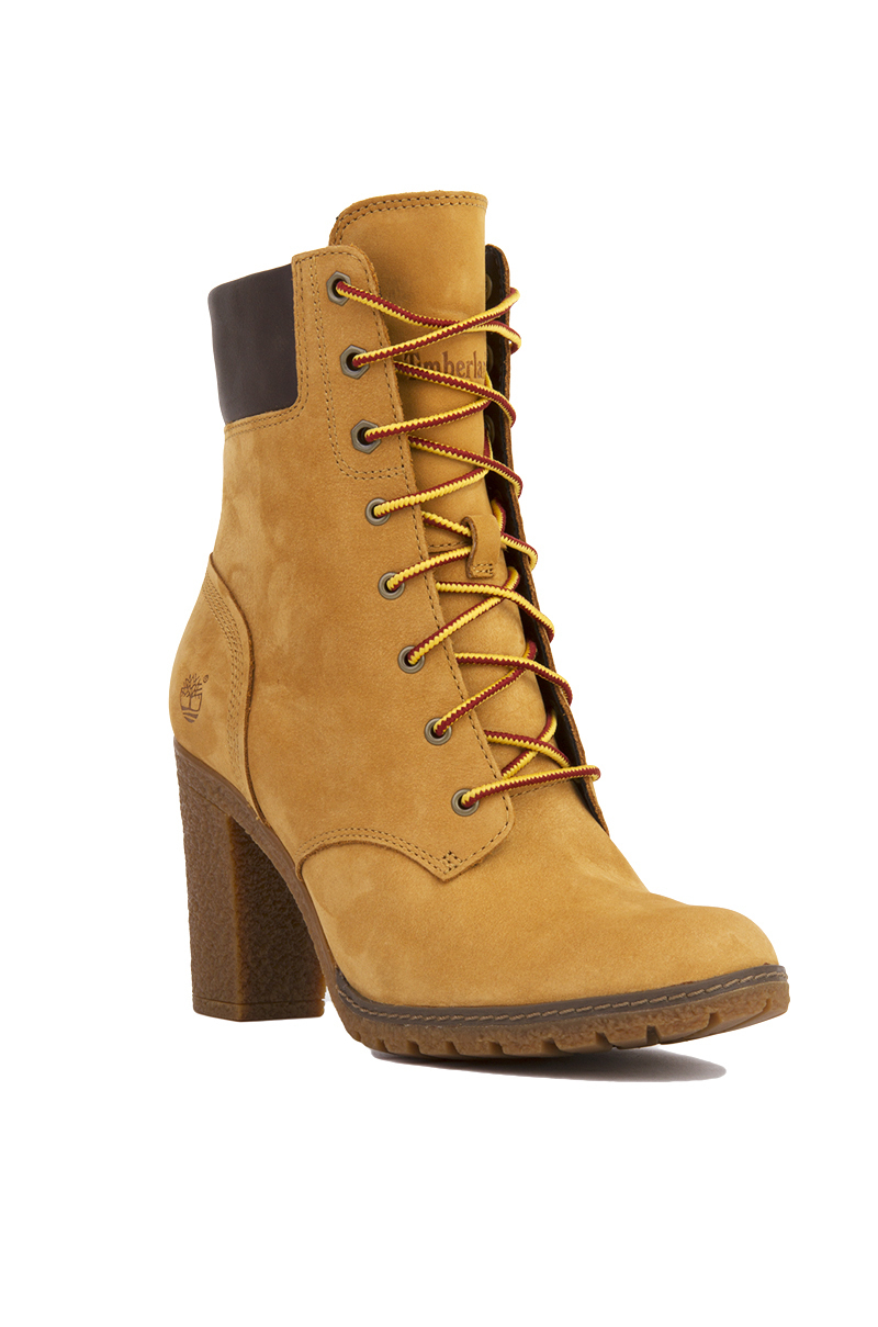 3d168f94abbc Timberland Women s Glancy 6-inch Heeled Boots in Natural - Lyst