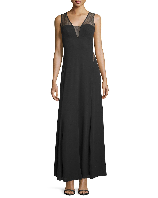 Bcbg long lace dress