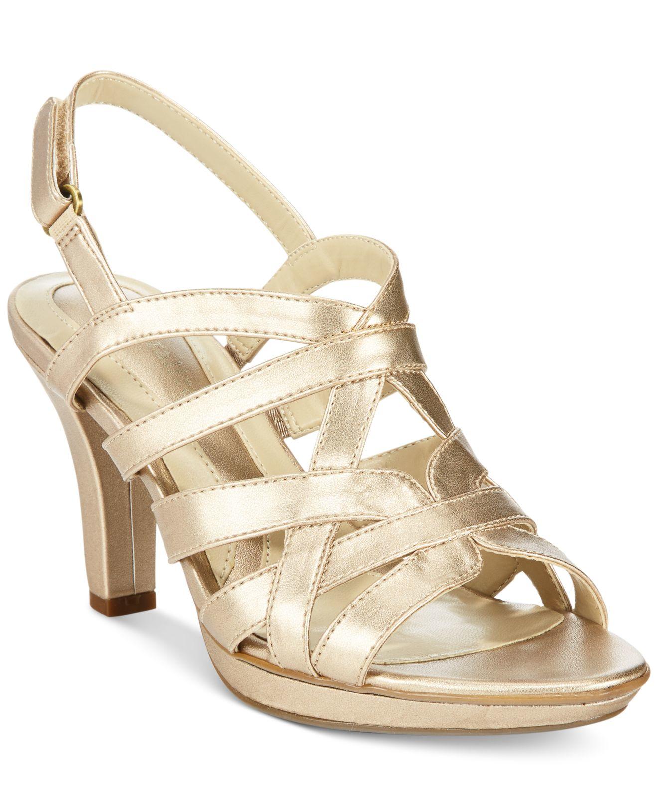 naturalizer gold heels cheap online