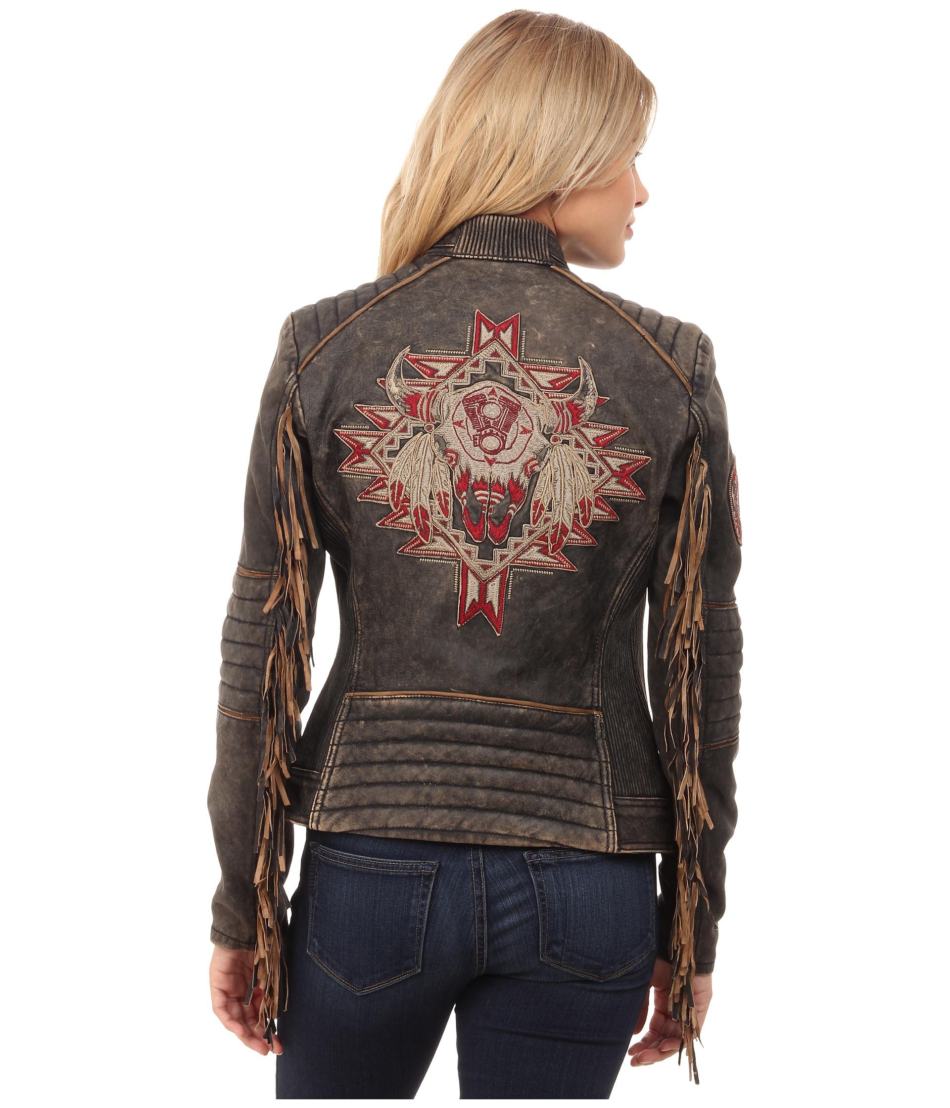 Affliction Womens Myah Biker Jacket