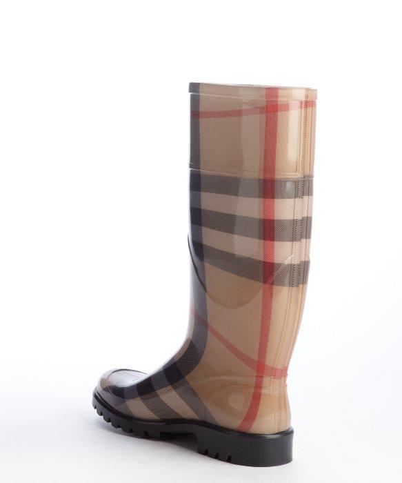 Mens Shoes Burberry Rain Boots