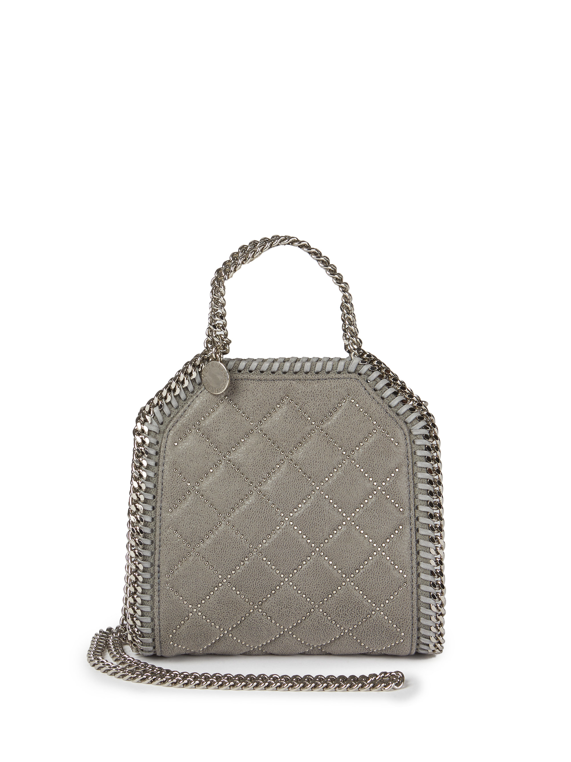 e6a7c4677b Stella McCartney Tiny Baby Bella Quilted & Studded Faux Leather ...